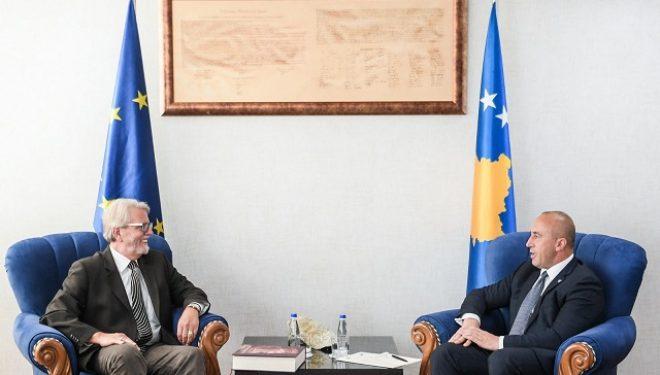 Haradinaj priti në takim lamtumirës Shefin e EULEX-it, Bernd Thran