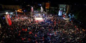 Kështu e përmbylli Lëvizja Vetëvendosje fushatën në Prishtinë