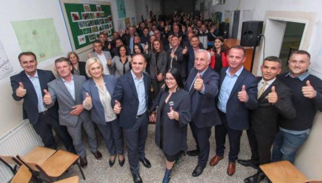Kush janë më të votuarit e PDK-së në Gjilan, Veseli i prinë listës
