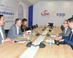 Grupet punuese VV–LDK për harmonizimin e programit takohen të mërkurën