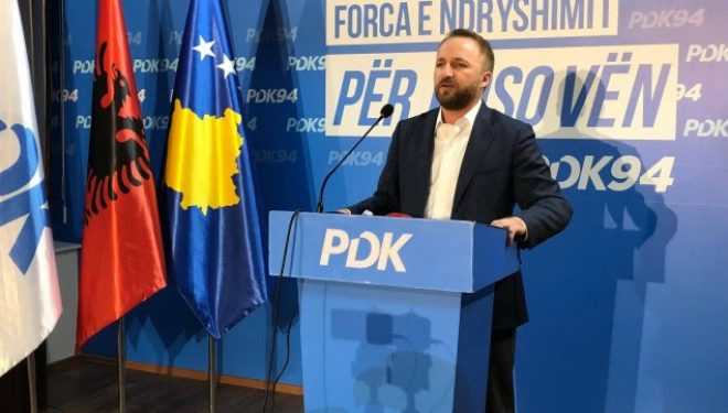 Abelard Tahiri shpall fitoren nga zyrat e PDK-së