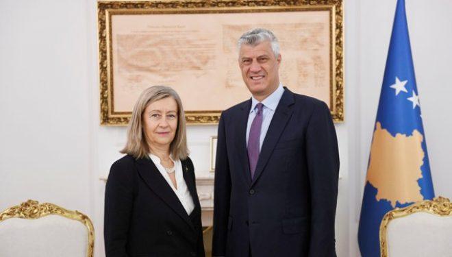 Thaçi takon senatoren franceze Conway-Mouret, fton për përkrahje konkrete nga shtetet e BE-së