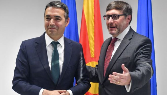 Palmer: SHBA-ja, partnere e fuqishme e Maqedonisë së Veriut