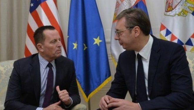 Vuçiq pas takimit me Grenell: S'ka ndarje të Kosovës, ata nuk do të na japin asgjë