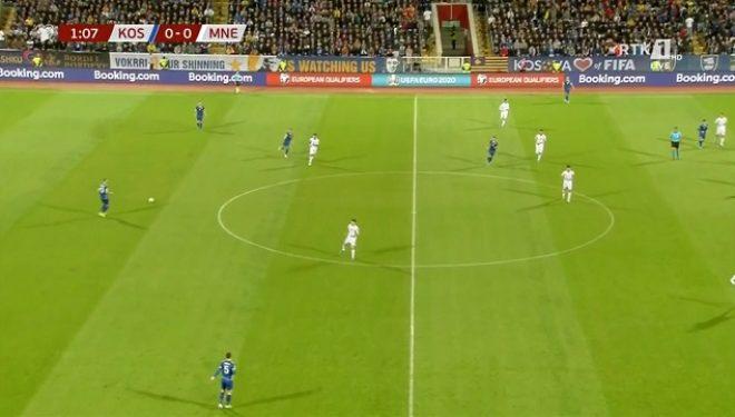 Vjen goli i parë i Kosovës ndaj Malit të Zi