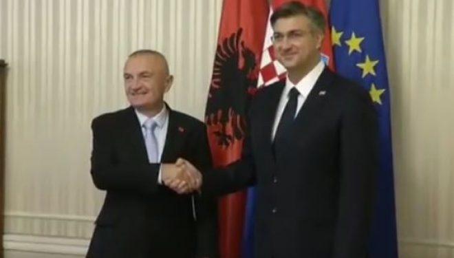 Meta takon Plenkovic: Linjë direkte ajrore Tiranë-Zagreb
