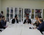Haziri takon kryetarin e Odës Ekomike Indiano-Kosovare për mundësitë e bashkëpunimit në zhvillimin ekonomik, arsim e shëndetësi