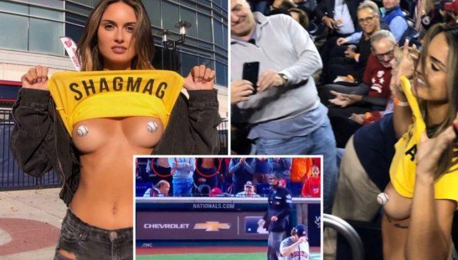 Tërbohen modelet! Ishin dëbuar nga stadiumi, por sërish nudo! – FOTO