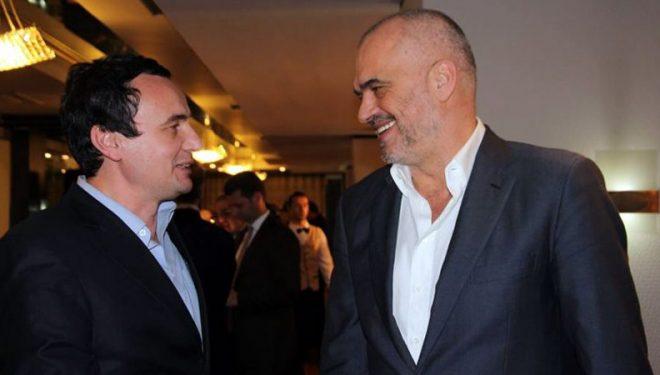 Albin Kurti takohet me Kryeministrin shqiptar, Edi Ramën