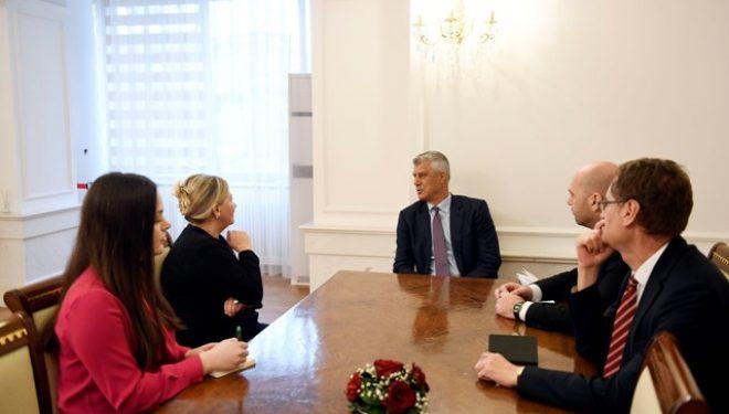 Thaçi: Kosova s`ka alternativë tjetër përveç anëtarësimit në BE