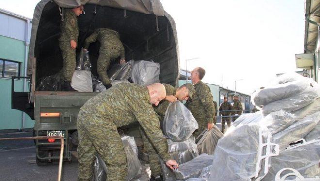 FSK-ja e ndihmon Shqipërinë me pajisje për strehim