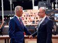 Thaçi në Paris takon Ministrin e Jashtëm të Kroacisë, Gordan Grlic-Radman