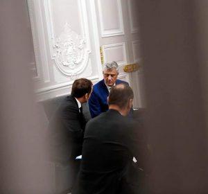 Thaçi-Macronit: Kosova është e gatshme për marrëveshje paqësore me Serbinë