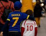 Kosova – Anglia, formacionet zyrtare