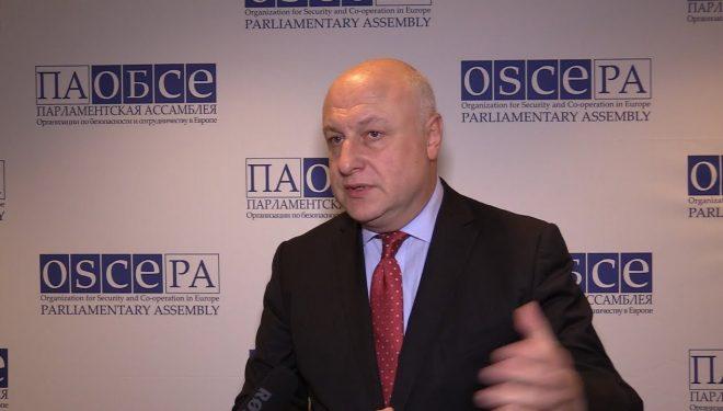 Udhëheqja e OSBE nga Shqipëria/ Presidenti Tsereteli: Palët politike të bëjnë më të mirën