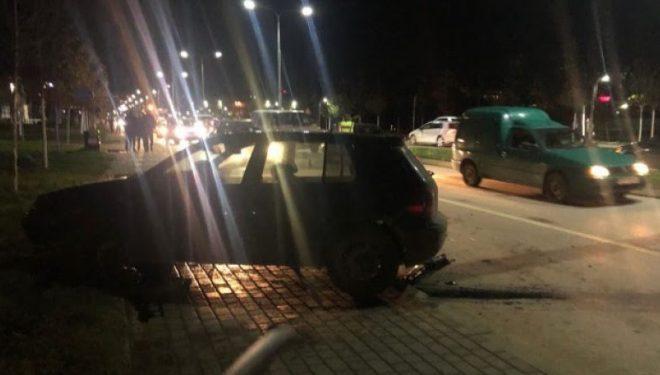 Goditet nga vetura një këmbësor në Prishtinë