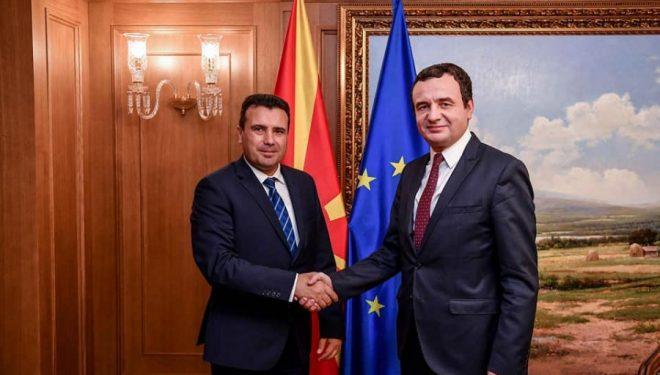 Kurti takon Zaevin, flasin për bashkëpunimin e Kosovës me Maqedoninë