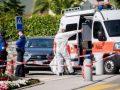 Kosovari e ther me thikë në qafë gruan e tij në Zvicër