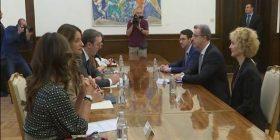 Çka bisedoi Vuçiq me prokurorin e Hagës?