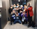 Tifozët finlandezë festojnë më shqiponjën dykrenare (FOTO)