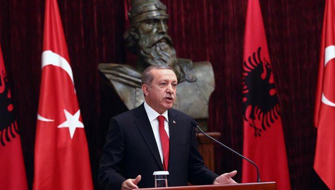 Erdogan: Do t'i ndërtojmë 500 shtëpi në Shqipëri