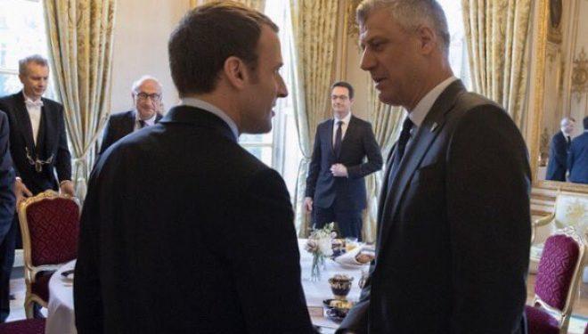 Thaçi në Paris: Franca mund të ketë rolin vendimtar në marrëveshjen Kosovë-Serbi