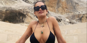 Foto/ Rita Ora pozon nudo