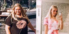 19 vjeçarja humb 63 kg për një vit, realizoi ëndrrën pak para martesës!