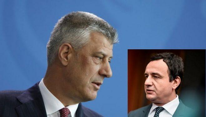 Thaçi: Mos të tentojë të bëjë presion ndaj Gjykatës Kushtetuese, vendimi i saj duhet respektuar