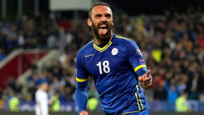 Vedat Muriqi shënon gol në minutat shtesë ndaj Gaziantepit, por ndëshkohet edhe me të kuq