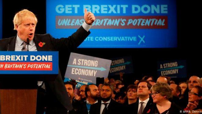 Zgjedhjet në Britani të Madhe, shumicën e fiton Boris Johnson me Partinë Konservatore