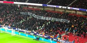 Me baner thumbues tifozët e Atletico Madridit ndaj Griezmannit