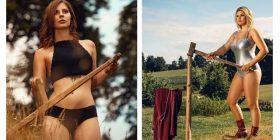Vajzat e fshatit reklamojnë bujqësinë