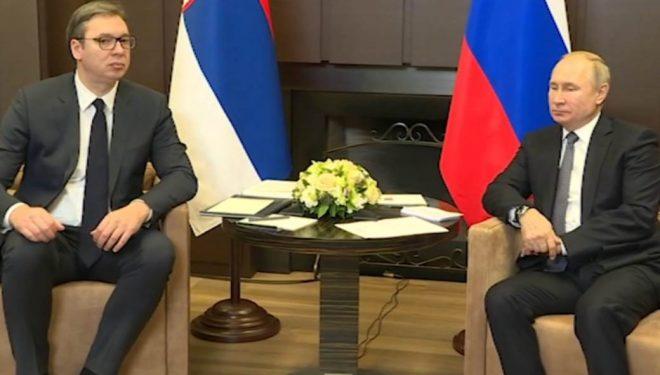 Vuçiq-Putinit: S`jam optimist për zgjidhje kompromisi me Kosovën