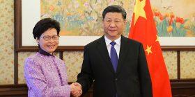 Edhe pse e kritikuar kryetarja e Hong Kongut, Kina vazhdon përkrahjen për të