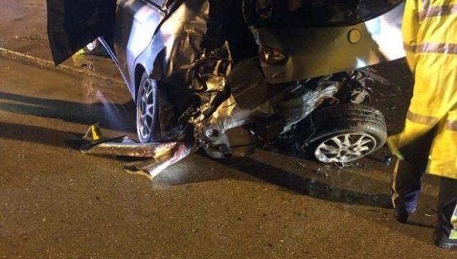 """E rëndë: Vdes në aksident i riu nga """"Arbëria"""" e Gjilanit, Burhan Ferati"""