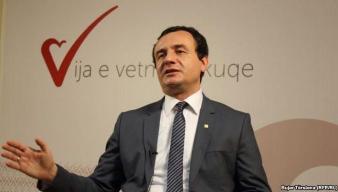 Kurti Mustafës: Nuk jemi monarkë ta shkarkojmë Glauk Konjufcën, ai nuk është Kadri Veseli