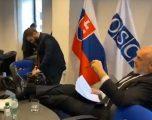Kryesimi i OSBE/ Takimi i Ramës në Bratislavë nis çuditshëm (video)