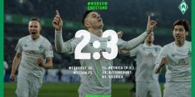 Rashica ka shënuar gol shumë të bukur, ia siguron fitoren Werderit