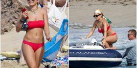 Rita Ora me pushime dimri në plazh, mahnit me bikinit