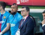 Valverde paralajmëron largimin e Vidalit: Barcelona ka shumë mesfushorë