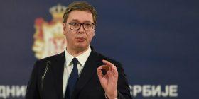 Vuçiç për taksën: Pres të hiqet nga qeveria e re
