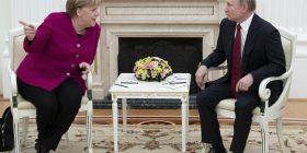 Kriza në Iran, Merkel takohet me Putinin
