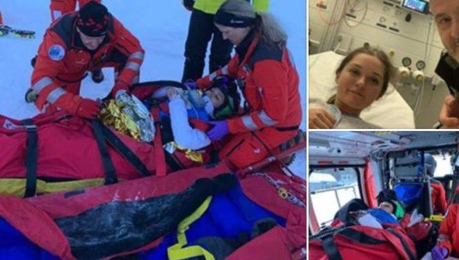 Skiatorja Era Shala thyen këmbën gjatë përgatitjeve, fat i keq për Kosovën