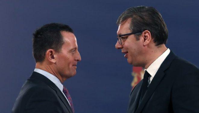Grenell arrin për vizitë në Serbi
