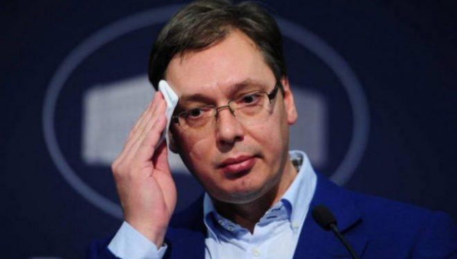 """Vuçiq ka thënë se ishte një """"takim i ashpër"""" me Kurtin"""