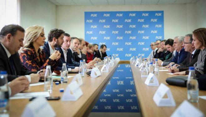 PDK zgjedh nënkryetarët, sekretarin e ri dhe udhëheqësit e departamenteve