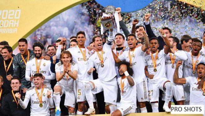 Real Madridi fiton Superkupën e Spanjës
