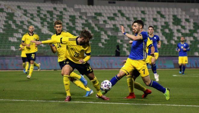 Formacionet zyrtare: Suedi – Kosovë Kosova humb miqësoren me Suedinë