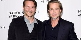 Brad Pitt falenderon Bradley Cooper